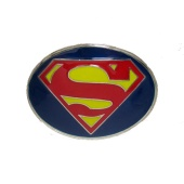 Пряжка SUPERMAN Logo круглая