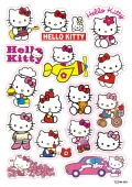 Sticker pack A4 Hello Kitty 001