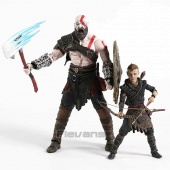 Набор фигурок NECA God of War 4: Kratos and Atreus set