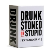 "Настольная игра ""Drunk Stoned or Stupid: Expansion#1"" англ."