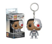 Брелок Funko POP DC Comics: Cyborg