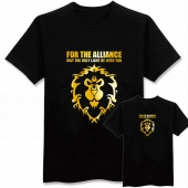 Футболка World Of WarCraft Alliance gold logo size M