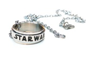 Кольцо Star Wars logo stainless steel