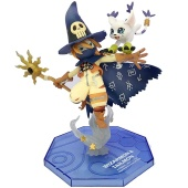 Фигурка Digimon Adventure: Wizarmon е Tailmon 11cm